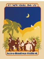 1977 Classic Jazz Fest Poster