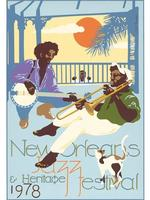 1978 Classic Jazz Fest Poster