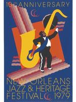 1979 Classic Jazz Fest Poster