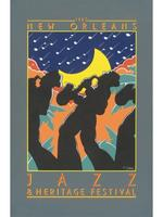 1980 Classic Jazz Fest Poster