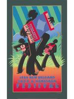 1988 Classic Jazz Fest Poster