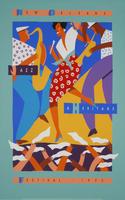 1992 Classic Jazz Fest Poster