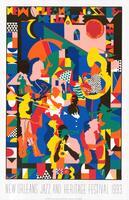 1993 Classic Jazz Fest Poster