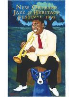 1995 Classic Jazz Fest Poster