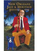 1996 Classic Jazz Fest Poster
