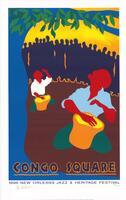 1996 Congo Square Poster