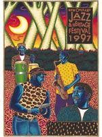 1997 Classic Jazz Fest Poster