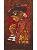 1999 Classic Jazz Fest Poster
