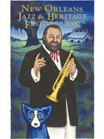 2000 Classic Jazz Fest Poster