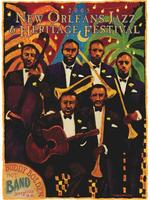 2005 Classic Jazz Fest Poster