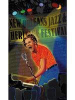 2007 Classic Jazz Fest Poster
