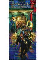 2014 Classic Jazz Fest Poster