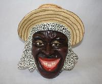 Paper mache mask from Haiti