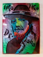 Dr. John Metal Sculpture